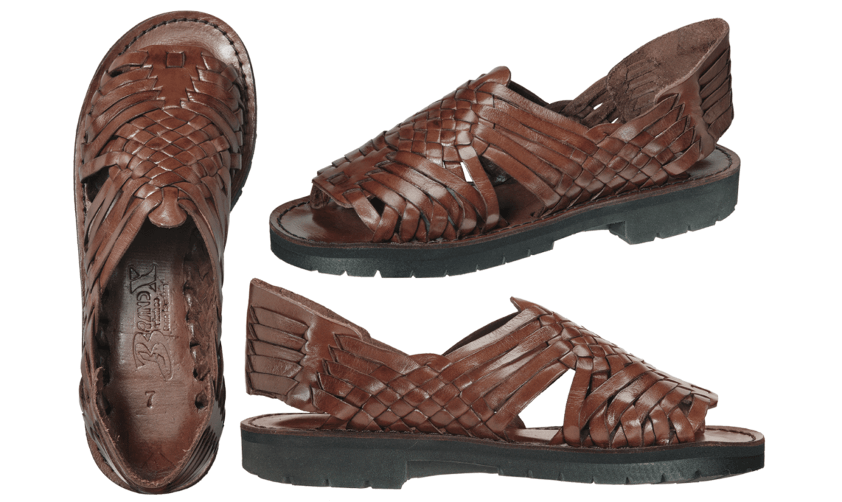 4824728f83db Our Best Selling Classic Mexican Women s huarache is hand woven right to  its same leather insole using natural vegetable tanned leather. Nothing but  soft ...